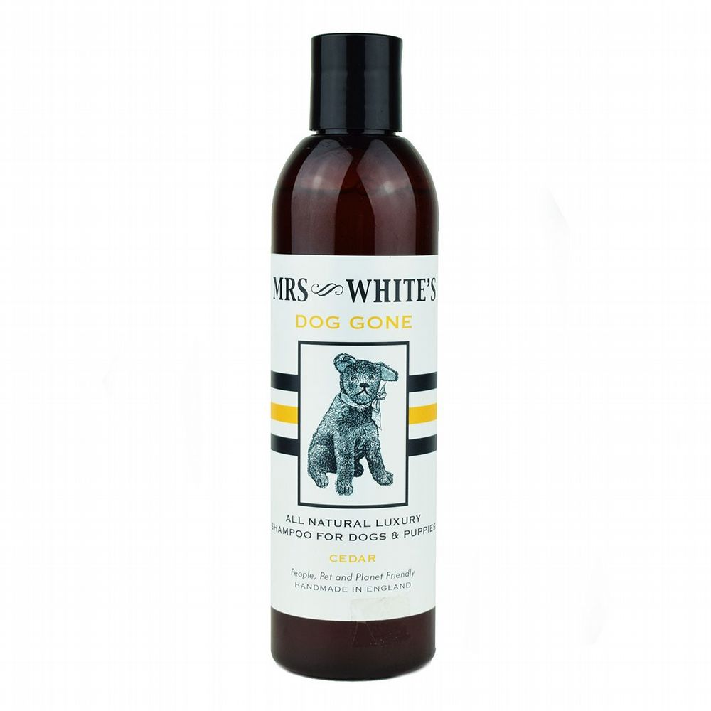 Mrs White�s �Dog Gone� All Natural Ecological Puppy & Dog Shampoo � 250ml | Roullier White